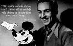 Học tiếng Anh qua những câu nói bất hủ của Walt Disney h1