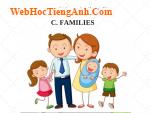 Bài nghe nói tiếng Anh lớp 6 Unit 3 At Home - Part C Families