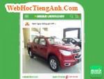 Giá xe Chevrolet Colorado LT 2.5 (số sàn 4x4)