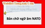 NATO Phonetic Alphabet là gì vậy?