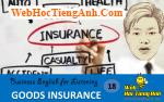 Tình huống 18: Bảo hiểm hàng - Tiếng Anh thương mại (Việt-Anh)