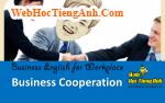 Tình huống 43: Hợp tác kinh doanh - Tiếng Anh công sở ( Việt - Anh)