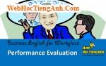 Tình huống 79: Đánh giá thành tích - Tiếng Anh công sở (Việt-Anh)