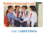 Bài nghe nói tiếng Anh lớp 6 Unit 1 Greetings - Part A Hello