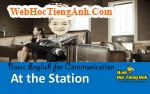 Video: At the train station - Basic English for Communication