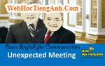 Video: Unexpected Meeting - Basic English for Communication