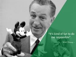 Học tiếng Anh qua những câu nói bất hủ của Walt Disney