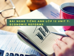 Bài nghe tiếng Anh lớp 12 Unit 7: Economic Reforms