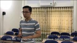 Thầy giáo Bá Đạo dạy tiếng Anh qua bài hát