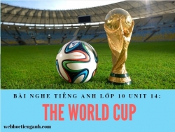 Bài nghe tiếng Anh lớp 10 Unit 14: The World Cup