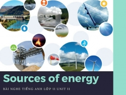 Bài nghe tiếng Anh lớp 11 Unit 11: Sources of energy