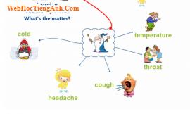 Bài tập từ vựng tiếng Anh bằng hình ảnh: Có chuyện gì vậy? (What's the matter?)