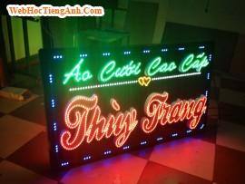 Bảng hiệu đèn led quảng cáo