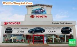 Đại lý xe Toyota An Thành Fukushima Quận 5 - đại lý 100% vốn Nhật Bản