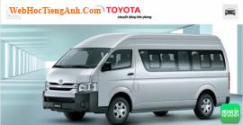 Đánh giá ngoại thất Toyota Hiace 2016