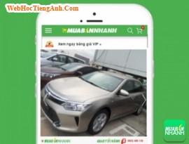 Giá xe Toyota Camry