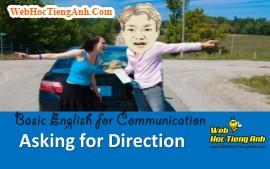 HỎI ĐƯỜNG - Tiếng Anh giao tiếp cơ bản