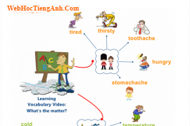 Học từ vựng tiếng anh bằng mindmap: Có chuyện gì vậy? (What's the matter?)