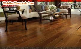 Phong cách hiện đại với sàn gỗ