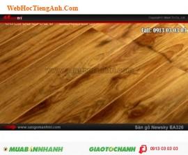 Sàn gỗ cho gia đình loại tốt