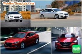 So sánh xe Chevrolet Cruze 2016 và Mazda 3 sedan mới