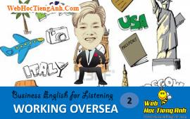 Tình huống 2: Công tác nước ngoài - Tiếng Anh thương mại (Việt - Anh)
