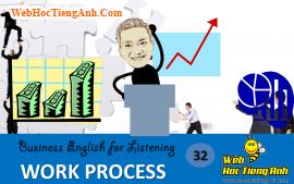 Tình huống 32: Tiến độ công việc - Tiếng Anh thương mại (Việt-Anh)