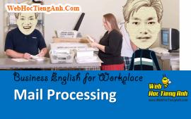 Tình huống 52: Giải quyết thư từ - Tiếng Anh công sở (Việt - Anh