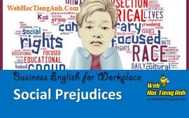 Tình huống 93: Định kiến xã hội - Tiếng Anh công sở (Việt-Anh)