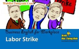 Tình huống 95 : Đình công - Tiếng Anh công sở ( Việt - Anh)