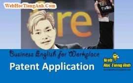 Tình huống 97: Xin cấp bản quyền - Tiếng Anh công sở (Việt-Anh)