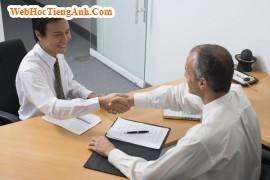 Trả lời phỏng vấn xin việc bằng Tiếng Anh