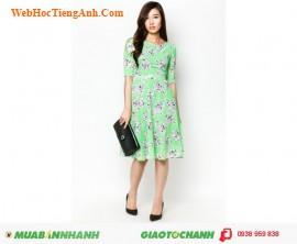 Váy hoa dạo phố - AnnA Collection