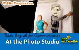 Video: At the photo studio - Basic English for Communication