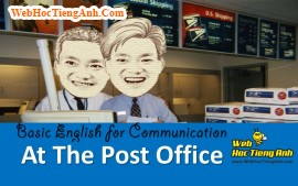 Video: At the post office - Basic English for Communication