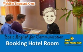 Video: Booking Hotel Room - Basic English for Communication