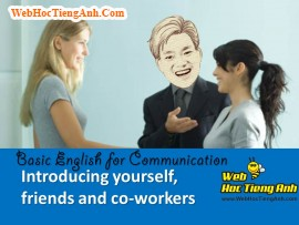 Video: Introducing yourself, friends, and co-workers - Basic English for Communication