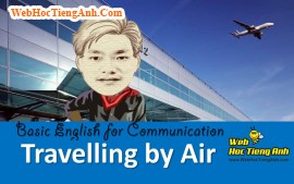 Video: Traveling by air - Basic English for Communication