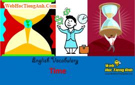 Học từ vựng bằng hình ảnh: Thời gian (Time)