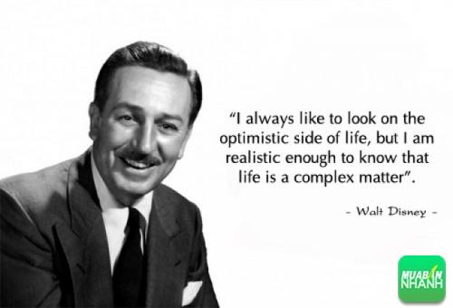 Học tiếng Anh qua những câu nói bất hủ của Walt Disney 3