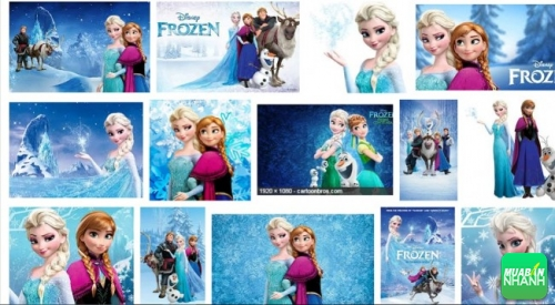 học tiếng anh qua phim hoạt hình Frozen