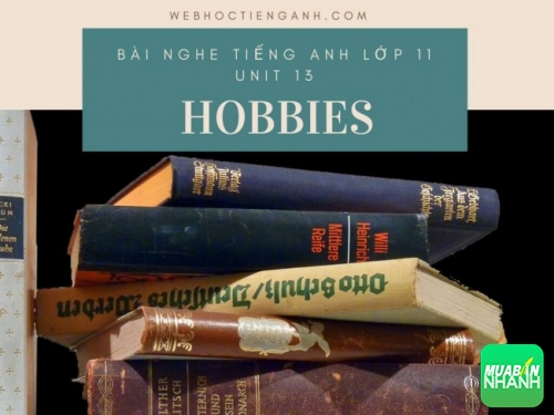 Bài nghe tiếng Anh lớp 11 Unit 13: Hobbies