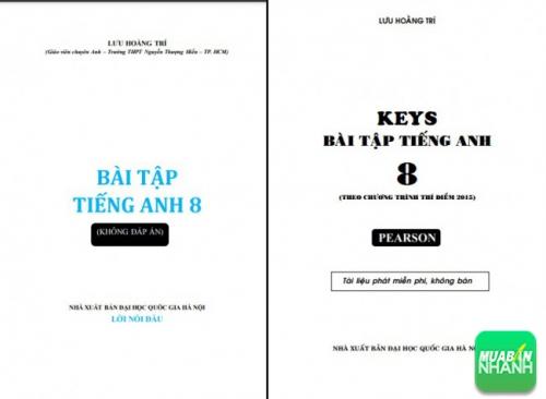Sách đáp án bài tập tiếng Anh 8 Lưu Hoằng Trí PDF